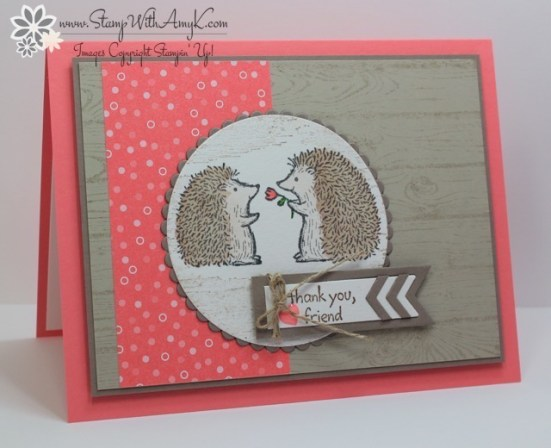 Love You Lots - Stamp With Amy K