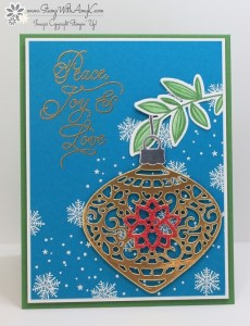 Peace This Christmas 1 - Stamp With Amy K