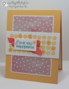 Penned & Painted 2 - Stamp With Amy K