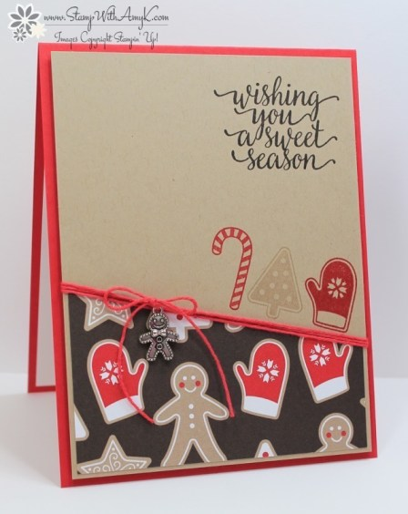 Candy Cane Christmas - Stamp With Amy K