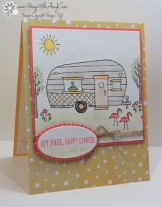 Glamper Greetings 2 - Stamp With Amy K