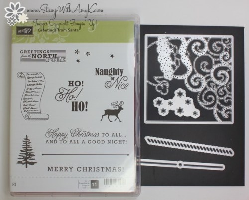 Greetings from Santa 5 - Stamp With Amy K