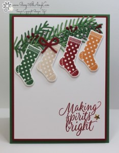 Hang Your Stocking 1 - Stamp With Amy K