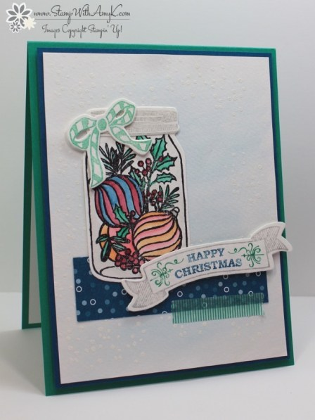 Jar of Cheer - Stamp With Amy K