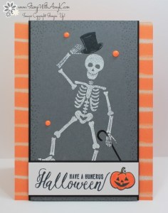 Mr. Funny Bones 1 - Stamp With Amy K