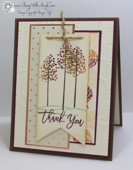 Thoughtful Branches - Stamp With Amy K