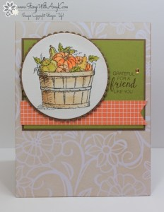 Basket of Wishes 1 - Stamp With Amy K