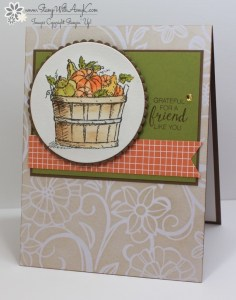 Basket of Wishes 2 - Stamp With Amy K