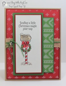 Christmas Magic 1 - Stamp With Amy K