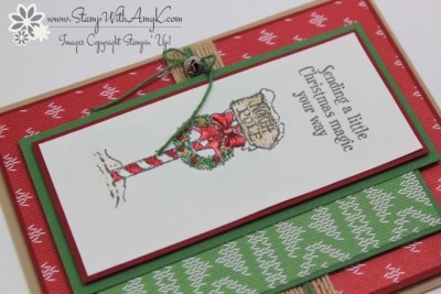 Christmas Magic 3 - Stamp With Amy K