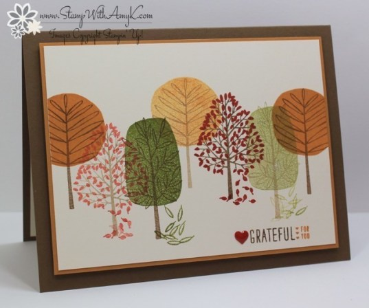 Totally Trees 1 - Stamp With Amy K