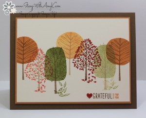 Totally Trees 2 - Stamp With Amy K