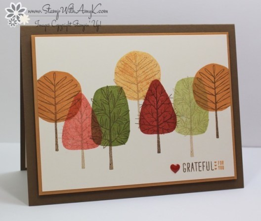 Totally Trees - Stamp With Amy K