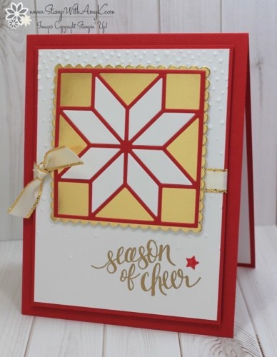 Watercolor Christmas 1 - Stamp WIth Amy K