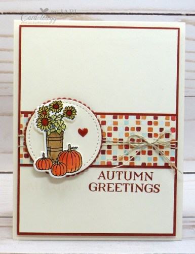 Stampin' UP! At Home With You and Seasonal Lantern
