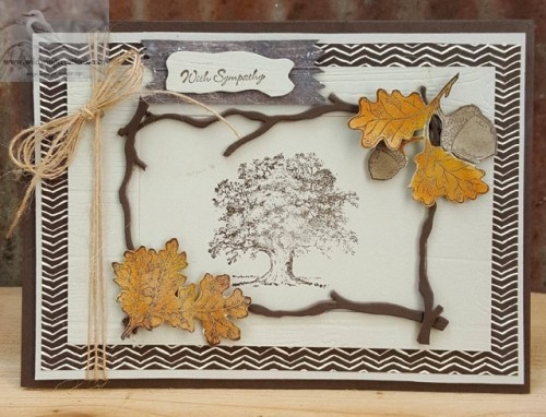 Stampin' Up! Lovely as a Tree and Teeny Tiny Wishes