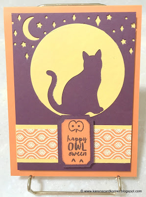 Stampin' Up! Spooky Cat