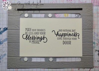 Stampin Up Barn Door Slider Card Stamp With Amy K