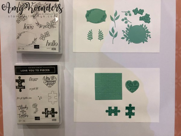 Stampin' Up! Love you to Pieces - Stamp With Amy K