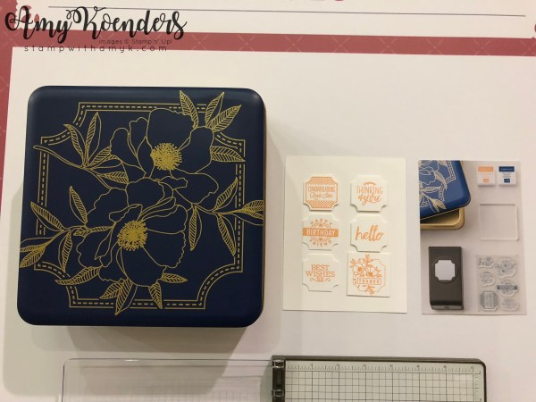 Stampin' Up! Darling Label Punch Box - Stamp With Amy K