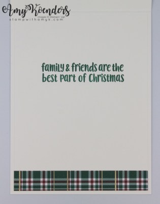 Stampin Up Christmas Crowd For The Happy Inkin Thursday Blog Hop Stamp With Amy K