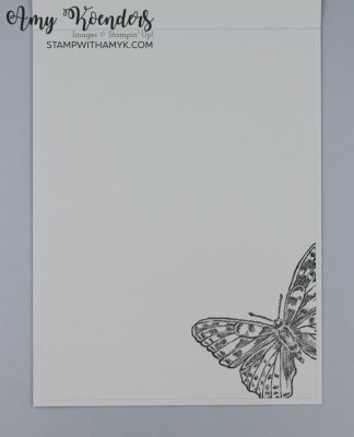 Stampin' Up! Butterfly Brilliance CAS Sweet Friend Card