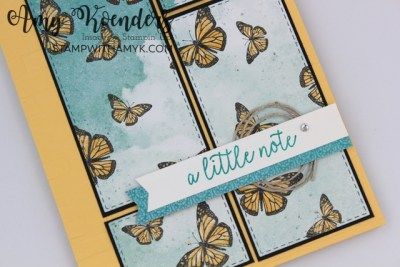 Stampin' Up! Butterfly Gala Just A Note Card