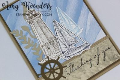 Stampin' Up! Sailing Home Sympathy Card