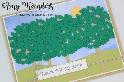 Stampin' Up! Inspired Thoughts Thank You Card