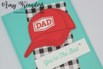 Stampin' Up! Hats Off Father's Day Card