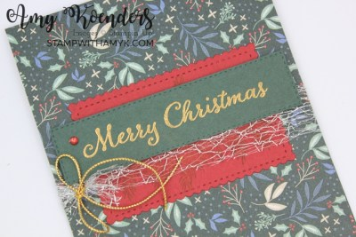 Stampin' Up! Evergreen Elegance Christmas Card