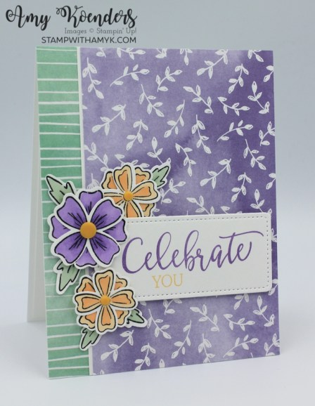 Stampin' Up! Flowers Of Friendship Celebrate You Card