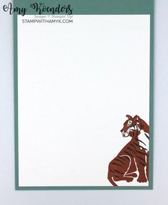 Stampin' Up! Wild Cats Birthday Card