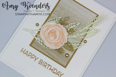Stampin' Up! Artistically Inked CAS Birthday Card