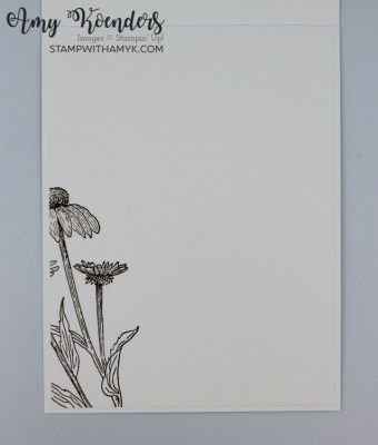 Stampin' Up! Nature's Harvest Thank You Card