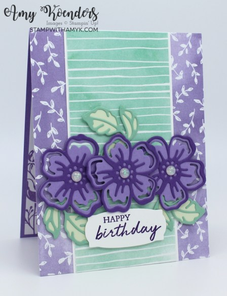 Stampin' Up! Shaded Summer Birthday Card