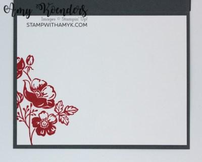 Stampin' Up! Summer Shadows Dies Celebrate Card