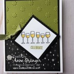 Christmas Card created with the Half Full stamp set by Stampin