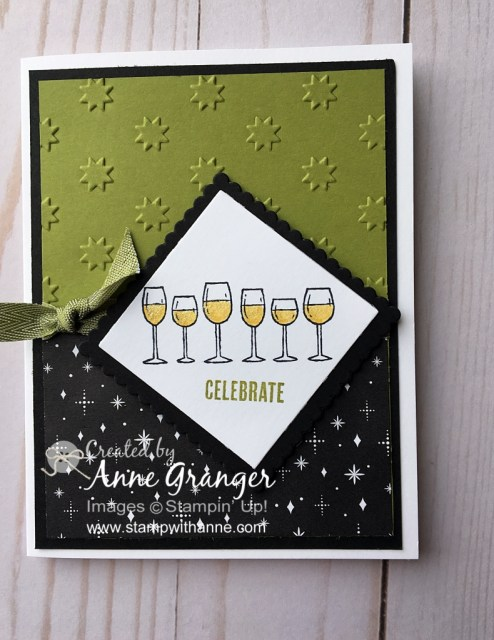 Christmas Card created with the Half Full stamp set by Stampin' Up!
