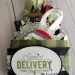 Gift Tag holder created with the Acetate Box by Stampin