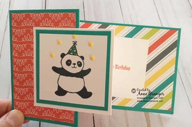 Party Pandas stamp set by Stampin' Up! Earn for FREE during Sale a Bration with a $60 order.