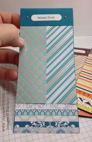 DSP Swatch Books, Stampin' Up!, Brian King