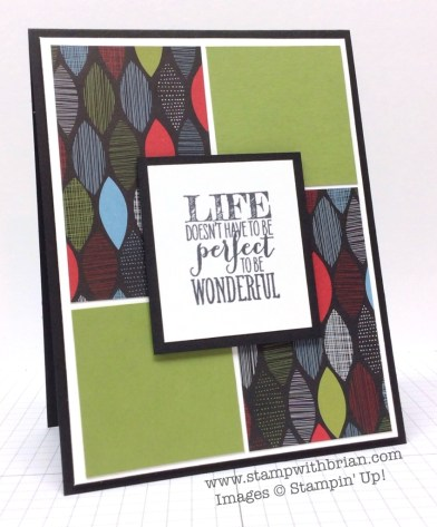 Perfect Pennants, Stampin' Up!, Brian King