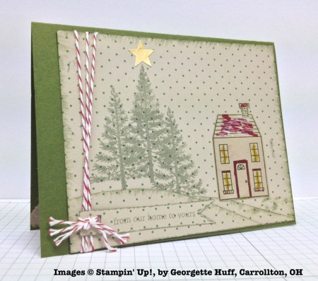 Holiday One-for-One Swap, Stampin' Up!, by Georgette Huff