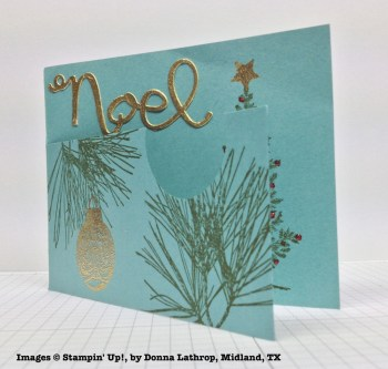 Holiday One-for-One Swap, Stampin' Up!, by Donna Lahtrop