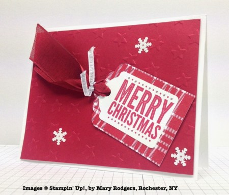 Holiday One-for-One Swaps, Stampin' Up!, by Mary Rodgers