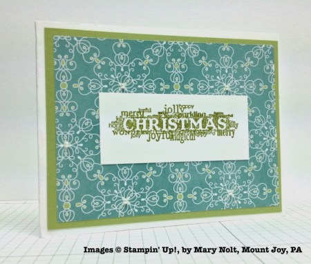 Holiday One-for-One Swap, Stampin' Up!, by Mary Nolt