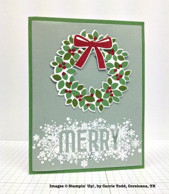 Holiday One-for-One Swap, Stampin' Up!, by Carrie Todd