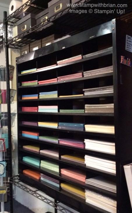 Paper Storage Ideas, Stampin' Up!, Brian King