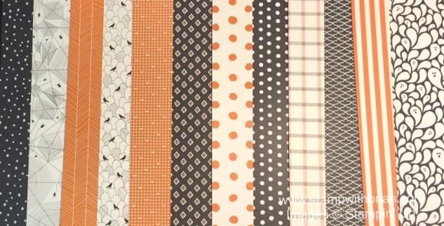 Happy Hauntings Designer Series Paper, Stampin' Up!